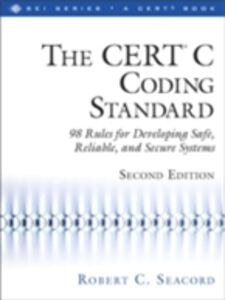 Ebook in inglese CERT® C Coding Standard, Second Edition Seacord, Robert C.