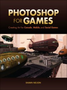 Ebook in inglese Photoshop for Games Nelson, Shawn