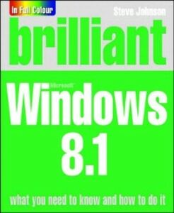 Ebook in inglese Brilliant Windows 8.1 Inc., Perspection , Johnson, Steve