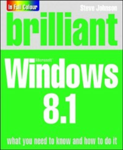 Ebook in inglese Brilliant Windows 8.1 Inc., Perspection , Johnson, Steve