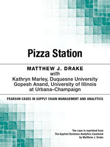 Ebook in inglese Pizza Station Drake, Matthew J.