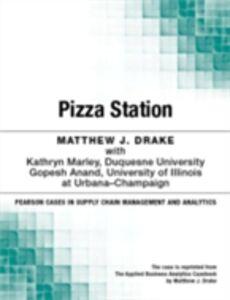 Ebook in inglese Pizza Station Drake, Matthew J.