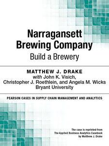 Foto Cover di Narragansett Brewing Company, Ebook inglese di Matthew J. Drake, edito da Pearson Education