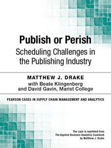 Ebook in inglese Publish or Perish Drake, Matthew J.
