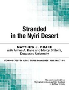 Foto Cover di Stranded in the Nyiri Desert, Ebook inglese di Matthew J. Drake, edito da Pearson Education