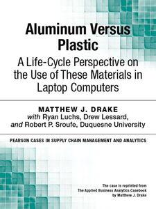 Ebook in inglese Aluminum Versus Plastic Drake, Matthew J.