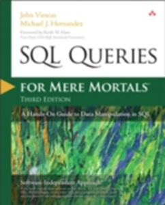 Ebook in inglese SQL Queries for Mere Mortals Hernandez, Michael J. , Viescas, John L.