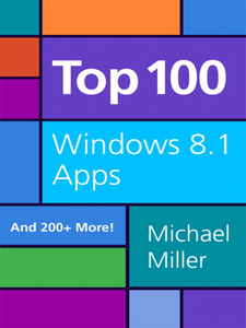 Ebook in inglese Top 100 Windows 8.1 Apps Miller, Michael R.