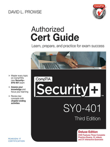 Ebook in inglese CompTIA Security+ SY0-401 Cert Guide, Deluxe Edition Prowse, David L.