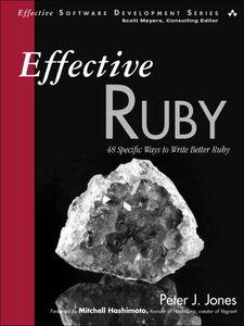 Foto Cover di Effective Ruby, Ebook inglese di Peter J. Jones, edito da Pearson Education