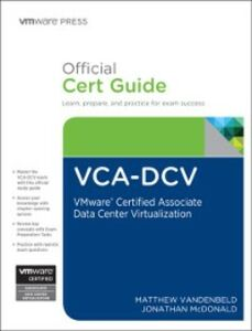 Ebook in inglese VCA-DCV Official Cert Guide McDonald, Jonathan , Vandenbeld, Matthew