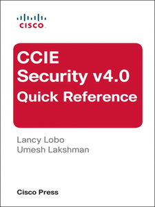 Ebook in inglese CCIE Security v4.0 Quick Reference Lakshman, Umesh , Lobo, Lancy
