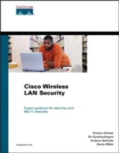 Foto Cover di Cisco Wireless LAN Security, Ebook inglese di AA.VV edito da Pearson Education