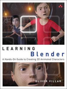 Ebook in inglese Learning Blender Villar, Oliver