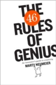 Ebook in inglese 46 Rules of Genius Neumeier, Marty