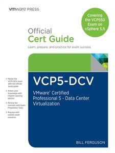 Foto Cover di VCP5-DCV Official Certification Guide (Covering the VCP550 Exam), Ebook inglese di Bill Ferguson, edito da Pearson Education