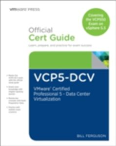 Ebook in inglese VCP5-DCV Official Certification Guide (Covering the VCP550 Exam) Ferguson, Bill