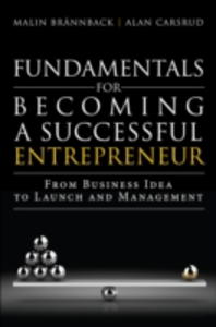 Ebook in inglese Fundamentals for Becoming a Successful Entrepreneur Brannback, Malin , Carsrud, Alan