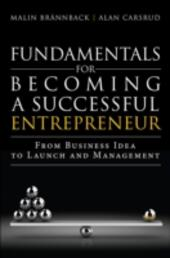 Fundamentals for Becoming a Successful Entrepreneur