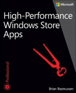 Ebook in inglese High-Performance Windows Store Apps Rasmussen, Brian