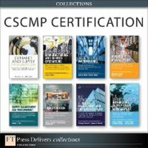 Ebook in inglese CSCMP Certification Collection Rao, Shashank , Sanders, Nada R. , Tate, Wendy , Waller, Matthew A.