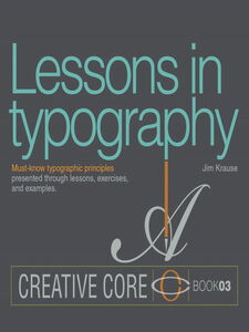 Ebook in inglese Lessons in Typography Krause, Jim