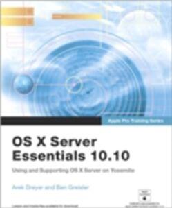 Ebook in inglese Apple Pro Training Series Dreyer, Arek , Greisler, Ben