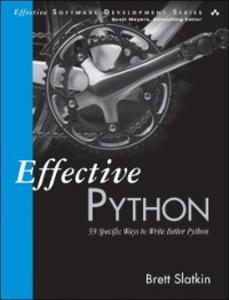 Ebook in inglese Effective Python Slatkin, Brett