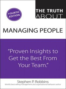 Ebook in inglese The Truth About Managing People Robbins, Stephen P.