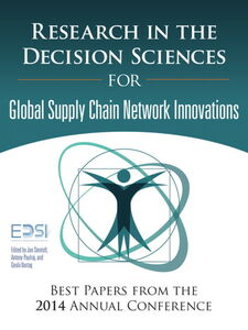 Foto Cover di Research in the Decision Sciences for Innovations in Global Supply Chain Networks, Ebook inglese di AA.VV edito da Pearson Education
