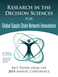 Ebook in inglese Research in the Decision Sciences for Innovations in Global Supply Chain Networks Institute, European Decision Sciences , Paulraj, Antony , Stentoft, Jan