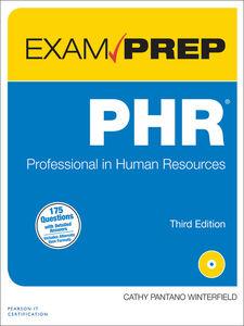 Foto Cover di PHR Exam Prep, Ebook inglese di Cathy Winterfield, edito da Pearson Education