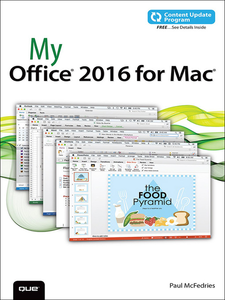 Ebook in inglese My Office 2016 for Mac (includes Content Update Program) McFedries, Paul