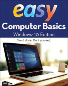 Ebook in inglese Easy Computer Basics, Windows 10 Edition Miller, Michael R.