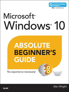 Ebook in inglese Windows 10 Absolute Beginner's Guide Wright