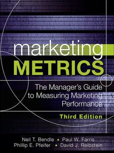 Foto Cover di Marketing Metrics, Ebook inglese di AA.VV edito da Pearson Education