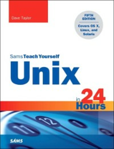 Ebook in inglese Unix in 24 Hours, Sams Teach Yourself Taylor, Dave