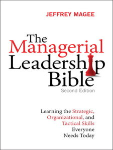 Ebook in inglese The Managerial Leadership Bible Magee, Jeffrey