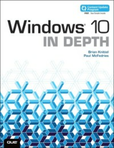 Ebook in inglese Windows 10 In Depth (includes Content Update Program) Knittel, Brian , McFedries, Paul