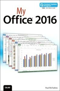 Ebook in inglese My Office 2016 (includes Content Update Program) McFedries, Paul
