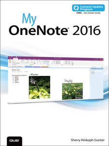 Ebook in inglese My OneNote 2016 Gunter, Sherry Kinkoph