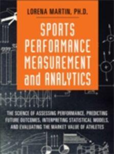 Ebook in inglese Sports Performance Measurement and Analytics Martin, Lorena