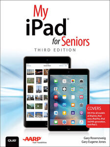 Ebook in inglese My iPad for Seniors Jones, Gary Eugene , Rosenzweig, Gary