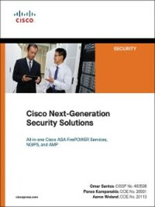 Foto Cover di Cisco Next-Generation Security Solutions, Ebook inglese di AA.VV edito da Pearson Education