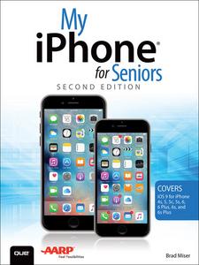 Ebook in inglese My iPhone for Seniors Miser, Brad