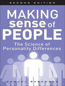 Foto Cover di Making Sense of People, Ebook inglese di Samuel Barondes, edito da Pearson Education