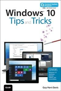 Ebook in inglese Windows 10 Tips and Tricks (includes Content Update Program) Hart-Davis, Guy
