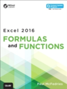 Ebook in inglese Excel 2016 Formulas and Functions (includes Content Update Program) McFedries, Paul