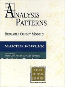 Ebook in inglese Analysis Patterns Fowler, Martin