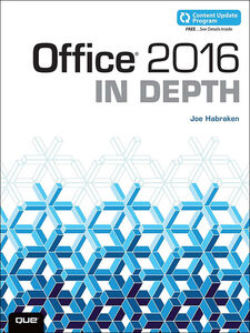 Ebook in inglese Office 2016 In Depth Habraken, Joe